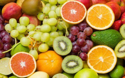 Bổ xung tinh bột và hoa quả